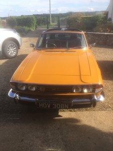 1974 Triumph Stag manual For Sale