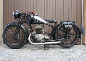 1937 Triumph K200 Bj m. Noris Scheinwerfer