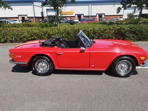 1975 Beautifully restored TR6 SOLD
