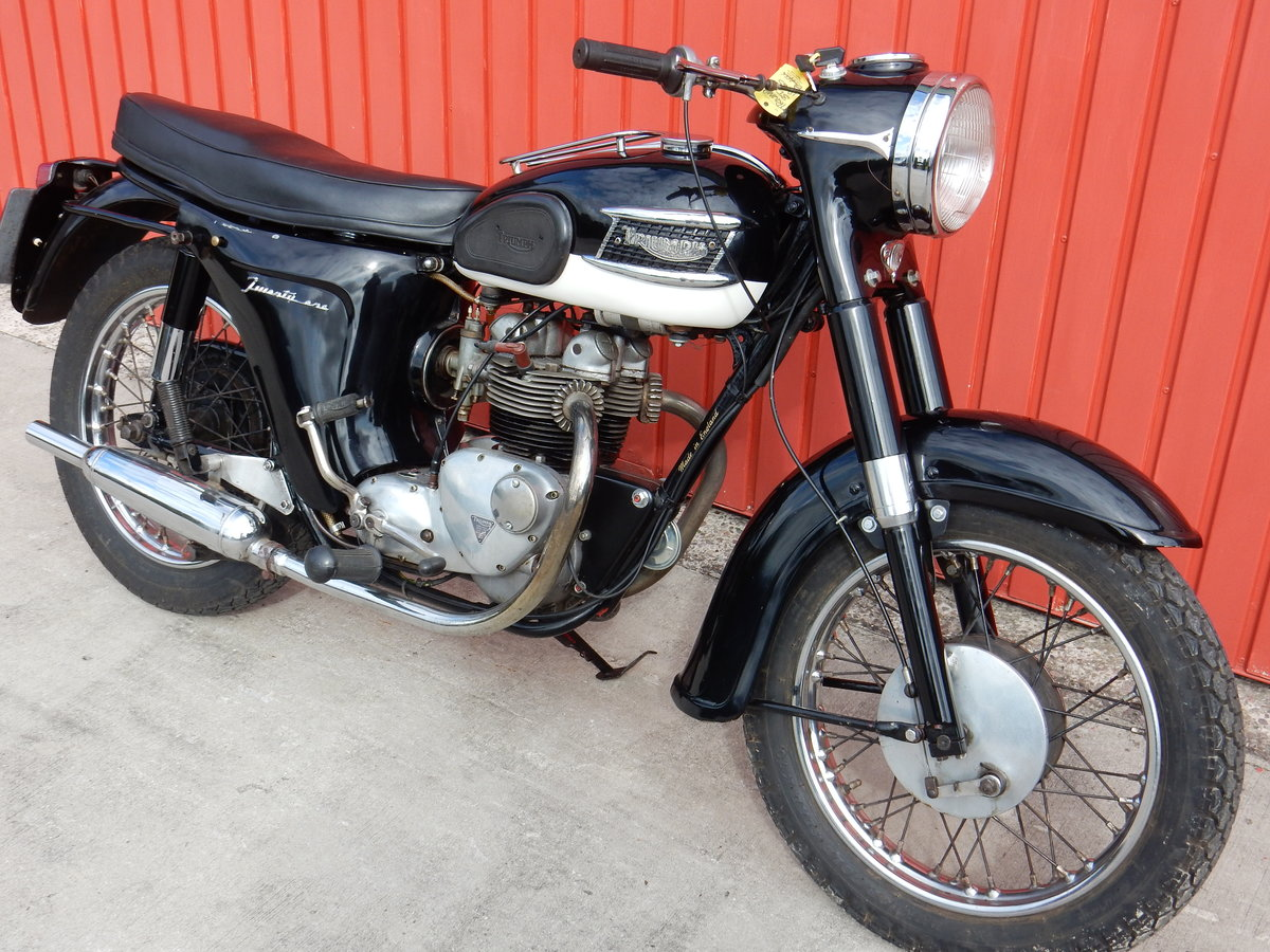Triumph Twenty One 3TA  1965  350cc Matching Nos For Sale (picture 1 of 6)