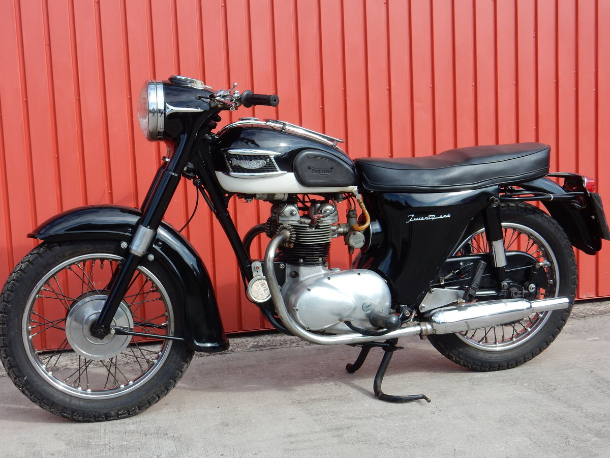 Triumph Twenty One 3TA  1965  350cc Matching Nos For Sale (picture 2 of 6)