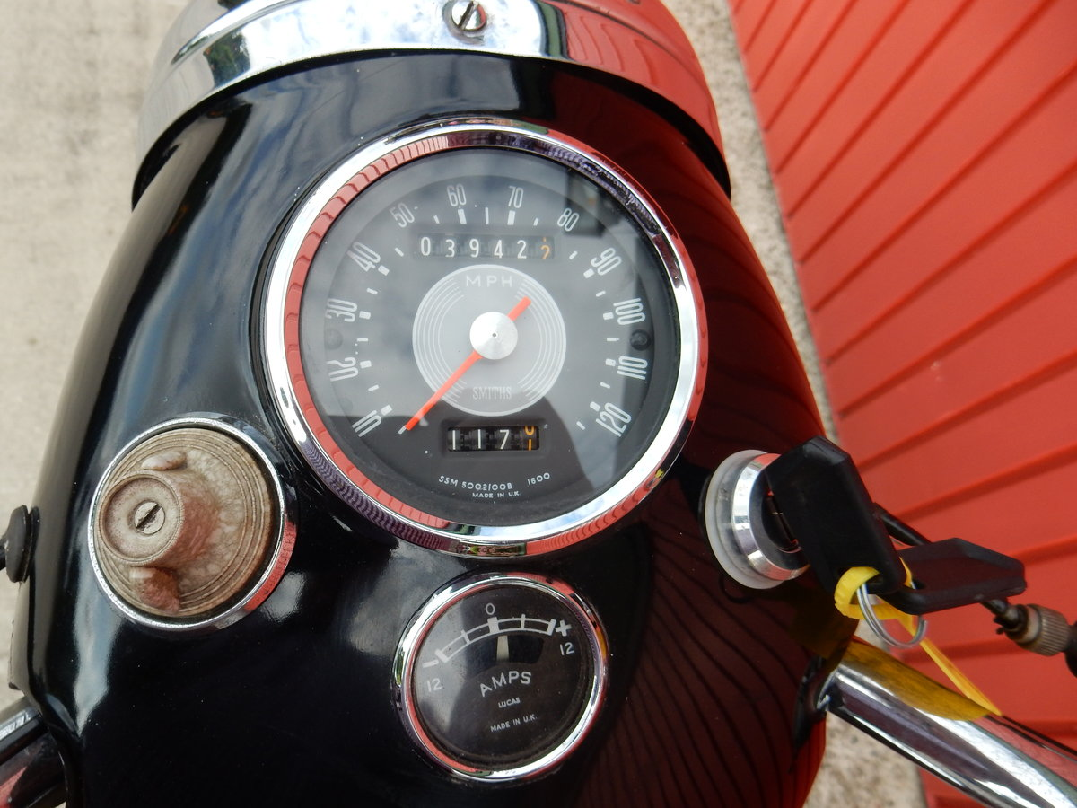 Triumph Twenty One 3TA  1965  350cc Matching Nos For Sale (picture 4 of 6)