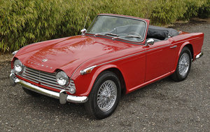 1966 Wanted TR4A   IRS