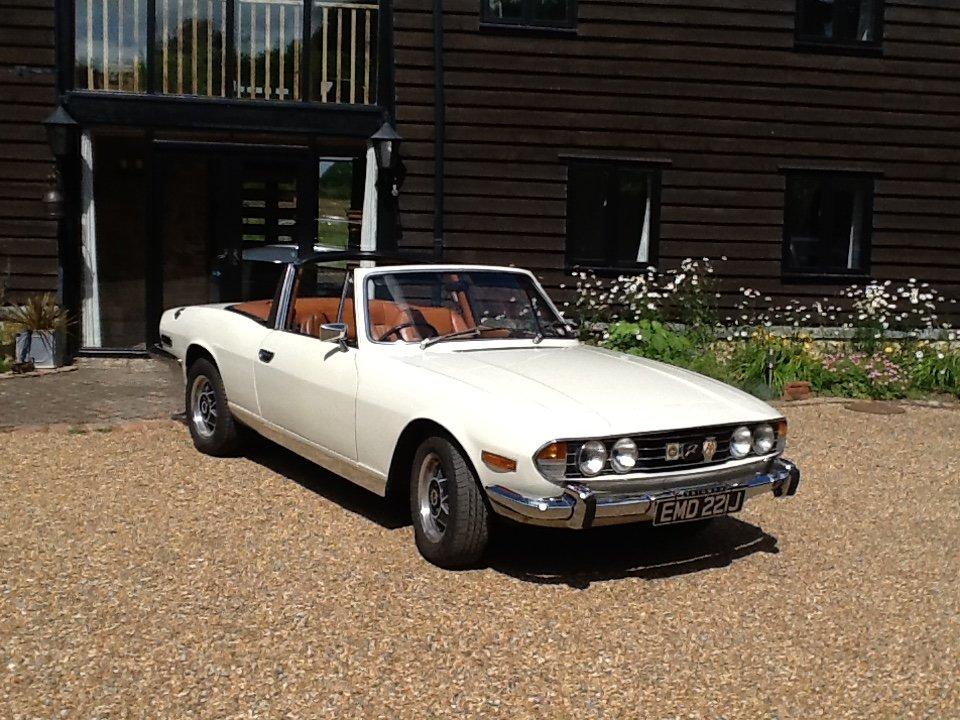 1971 Mk1 Triumph Stag SOLD (picture 1 of 6)