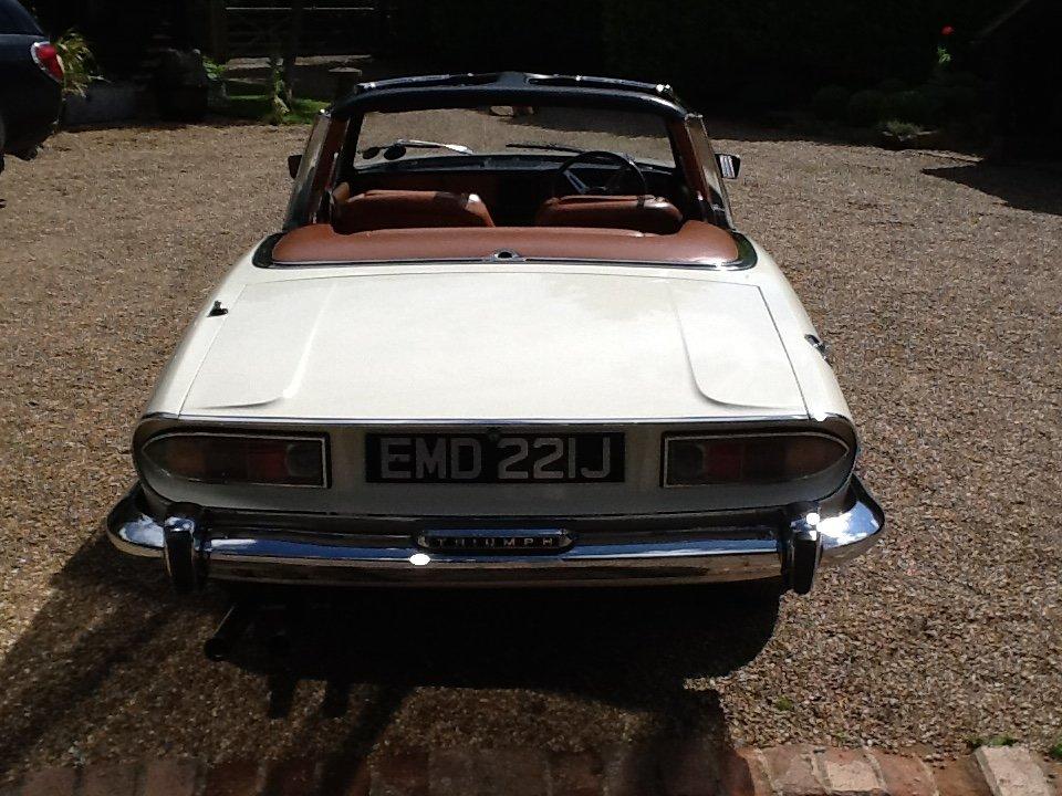1971 Mk1 Triumph Stag SOLD (picture 5 of 6)