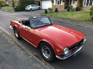 1971 TR6 Project to complete For Sale