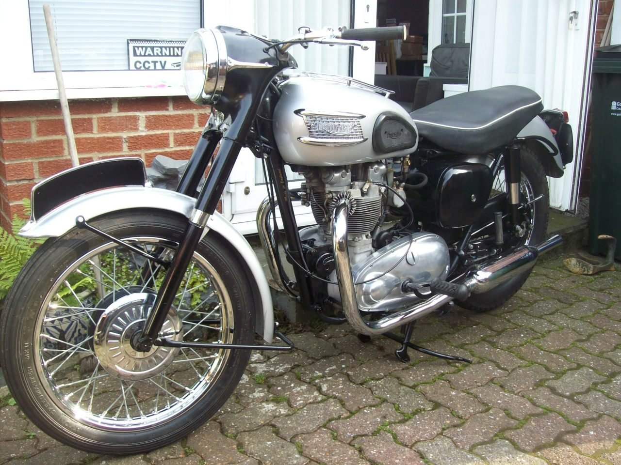 2002 1958 Triumph T100 all alloy For Sale (picture 4 of 6)