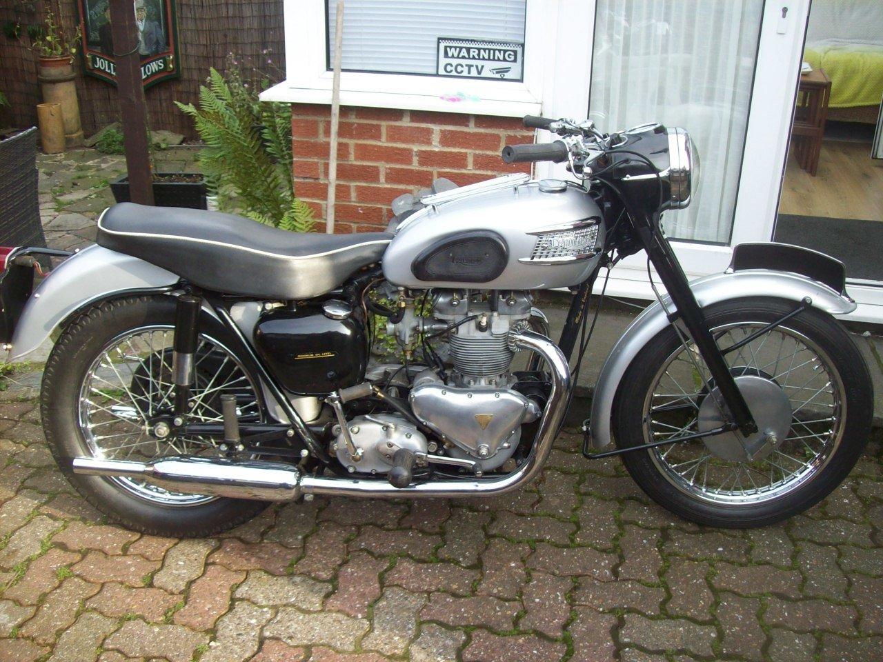 2002 1958 Triumph T100 all alloy For Sale (picture 5 of 6)