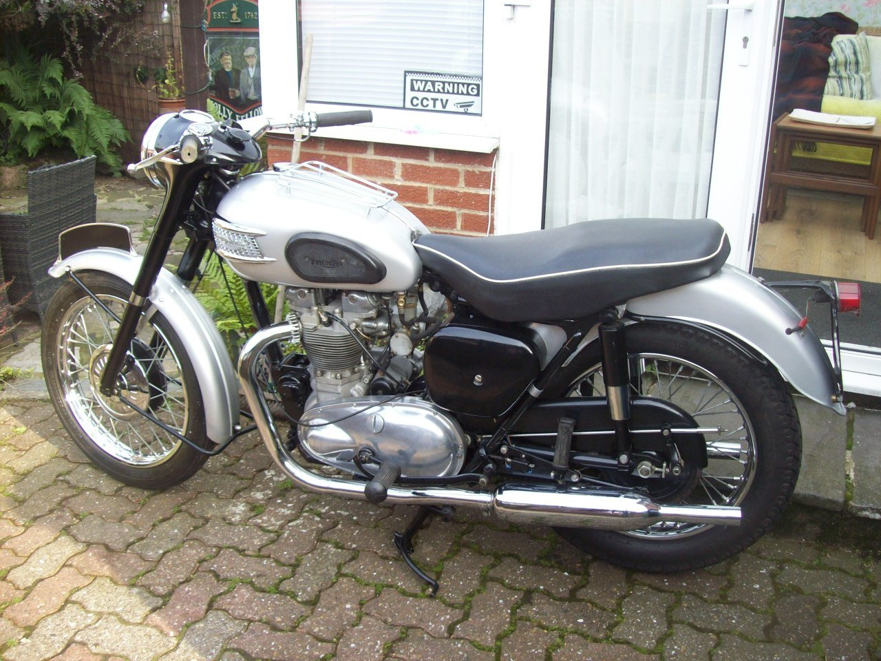 2002 1958 Triumph T100 all alloy For Sale (picture 6 of 6)