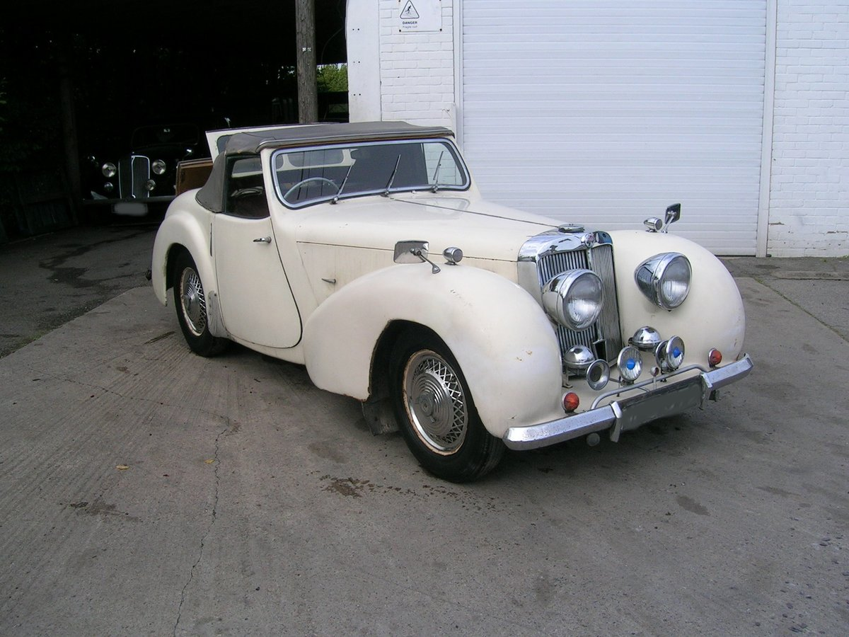 1949 Triumph 2000 Roadster TRA Historic Project  For Sale (picture 1 of 6)