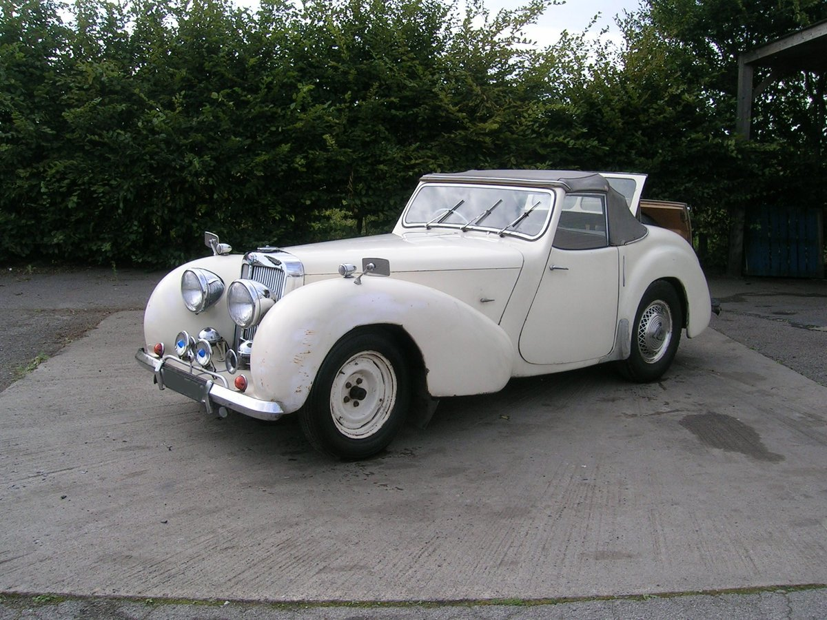 1949 Triumph 2000 Roadster TRA Historic Project  For Sale (picture 2 of 6)