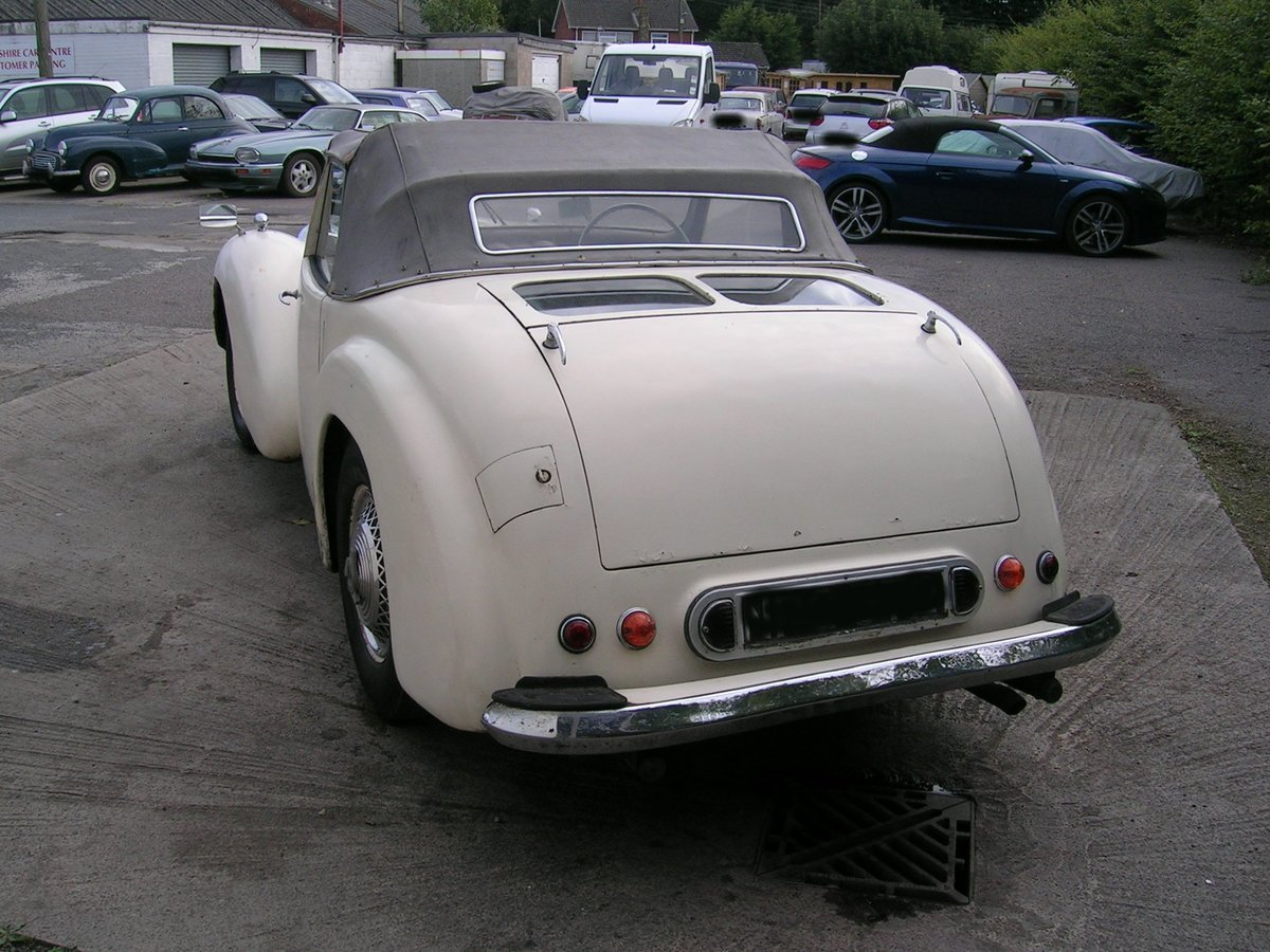 1949 Triumph 2000 Roadster TRA Historic Project  For Sale (picture 3 of 6)