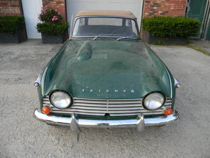 1967 Triumph TR4A IRS Stored 30 Years,  Free Shipping