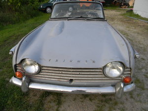 1967 Triumph TR4A IRS To Restore  , Free Shipping
