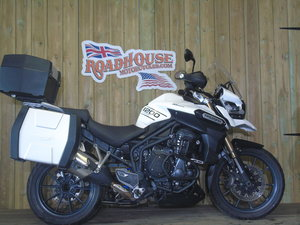 Triumph Tiger 1200 Explorer ABS 2015 Service History For Sale
