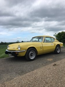1973 Triumph GT6 MK III Manual with overdrive For Sale