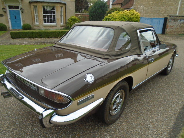 1971 Triumph Stag MK1. 4 owner car.  For Sale (picture 3 of 6)