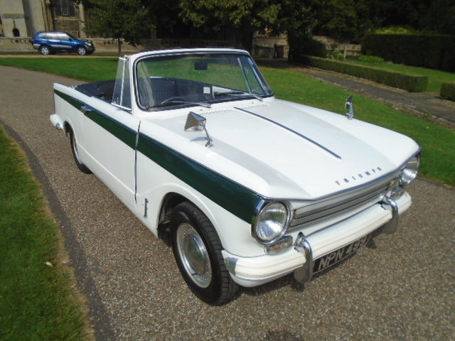 1970 Triumph Herald 13/60 Convertible.  For Sale (picture 1 of 6)