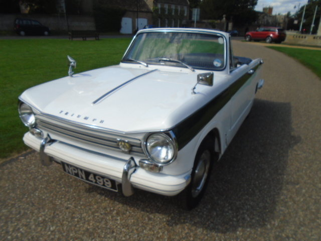 1970 Triumph Herald 13/60 Convertible.  For Sale (picture 2 of 6)