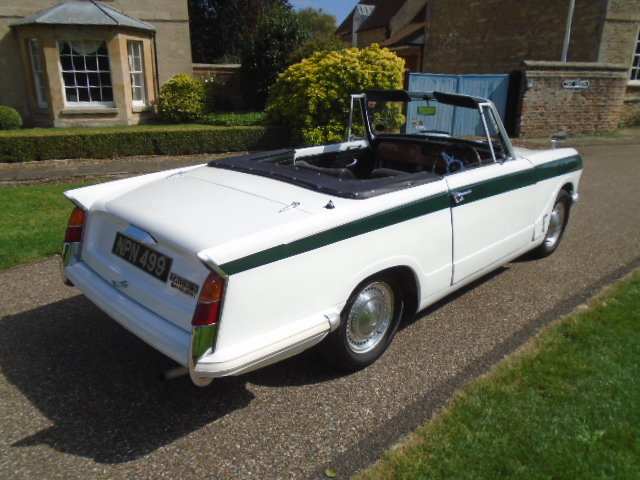 1970 Triumph Herald 13/60 Convertible.  For Sale (picture 3 of 6)