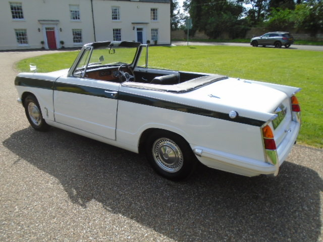 1970 Triumph Herald 13/60 Convertible.  For Sale (picture 4 of 6)