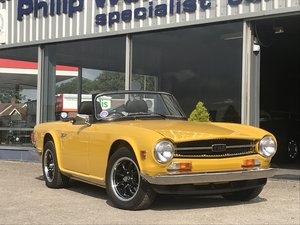 1973 TRIUMPH TR6 Recent Restoration For Sale