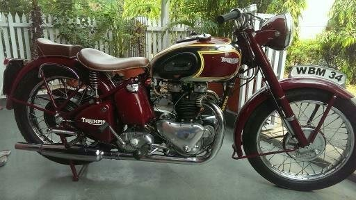 1949 Triumph 5T Twin !!BARGAIN!! Classic Bike For Sale (picture 2 of 6)