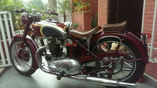 1949 Triumph 5T Twin !!BARGAIN!! Classic Bike For Sale (picture 3 of 6)