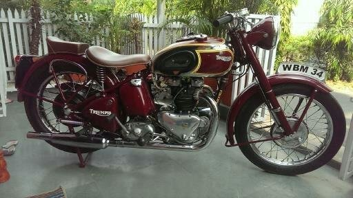 1949 Triumph 5t Twin   Bargain   Classic Bike For Sale