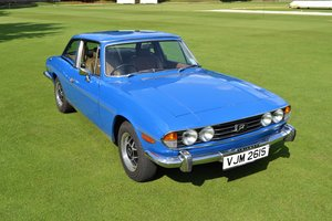 1978 Triumph Stag Tahiti Blue For Sale