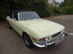 Triumph Stag MK2 3.0 V8 Auto with hard top 1976 'R For Sale