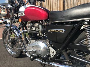 1976 Triumph Bonneville For Sale