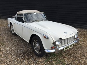 1967 Beautiful Triumph TR4A IRS For Sale