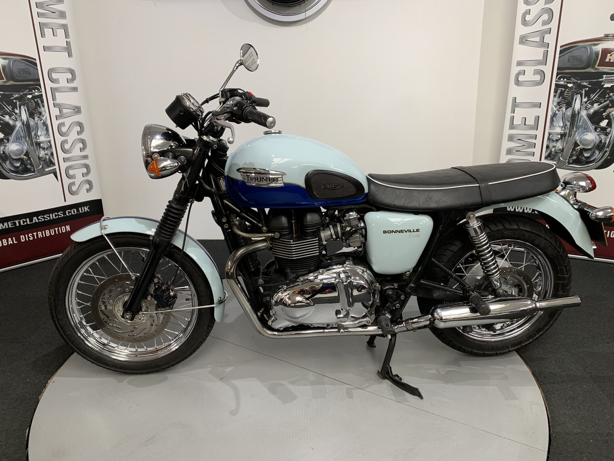 2010 Triumph Bonneville Sixty 850cc  For Sale (picture 1 of 6)