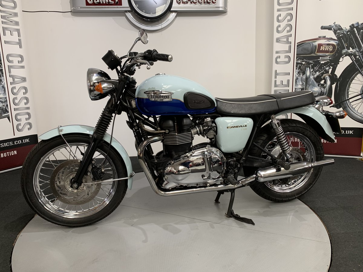 2010 Triumph Bonneville Sixty 850cc  For Sale (picture 2 of 6)