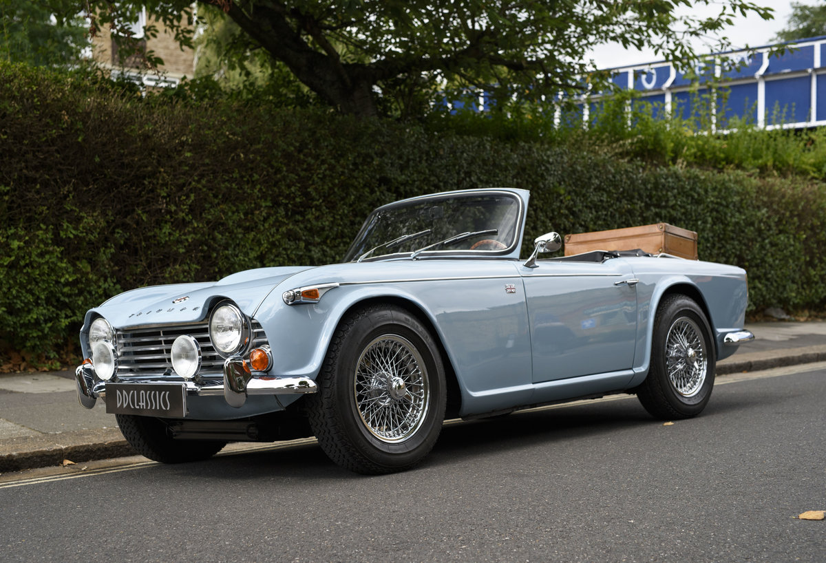 1966 Triumph TR4 Roadster For Sale In London (LHD) For Sale (picture 1 of 24)