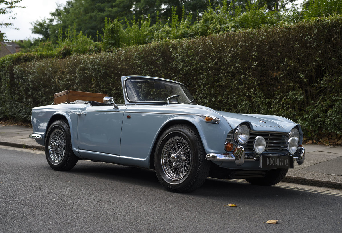 1966 Triumph TR4 Roadster For Sale In London (LHD) For Sale (picture 2 of 24)