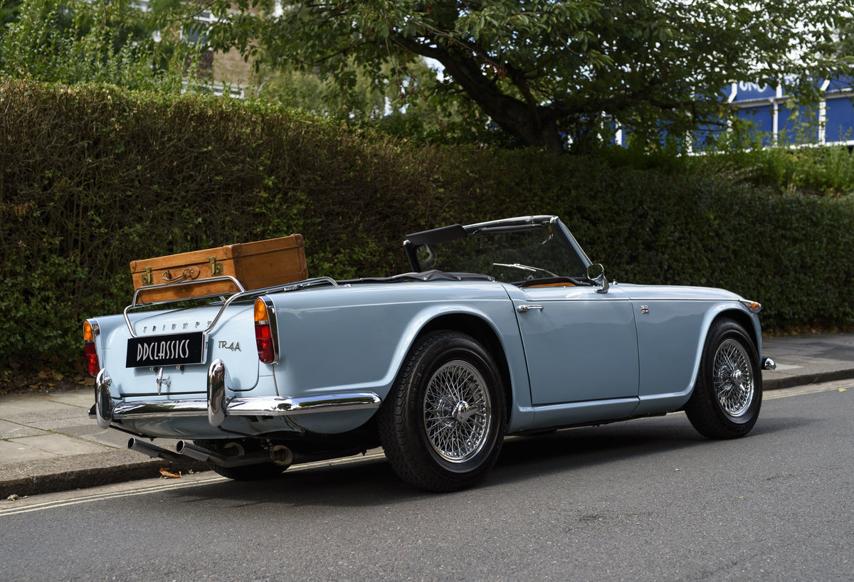 1966 Triumph TR4 Roadster For Sale In London (LHD) For Sale (picture 3 of 24)