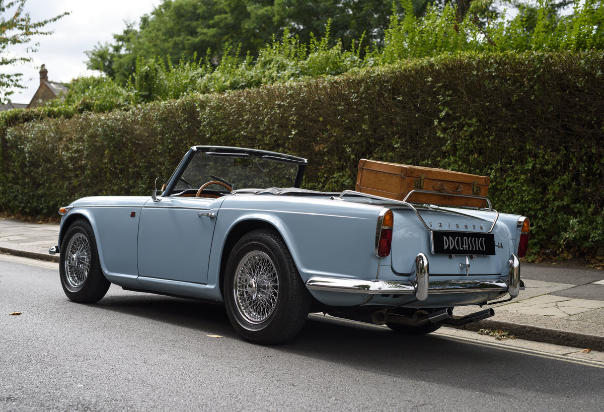 1966 Triumph TR4 Roadster For Sale In London (LHD) For Sale (picture 4 of 24)