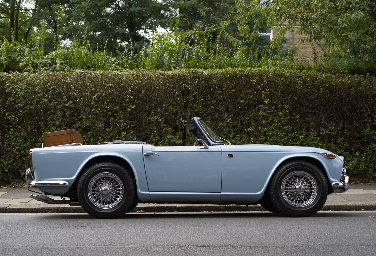 1966 Triumph TR4 Roadster For Sale In London (LHD) For Sale (picture 5 of 24)