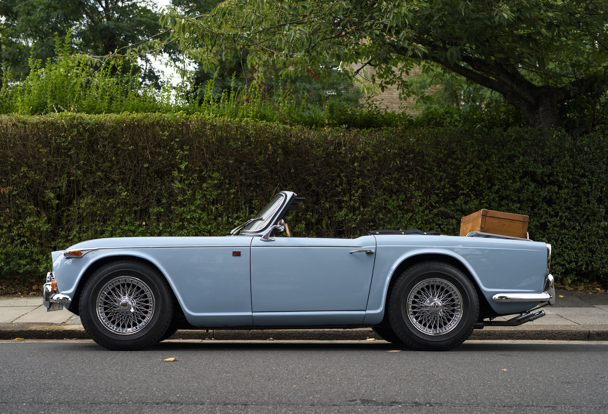 1966 Triumph TR4 Roadster For Sale In London (LHD) For Sale (picture 6 of 24)