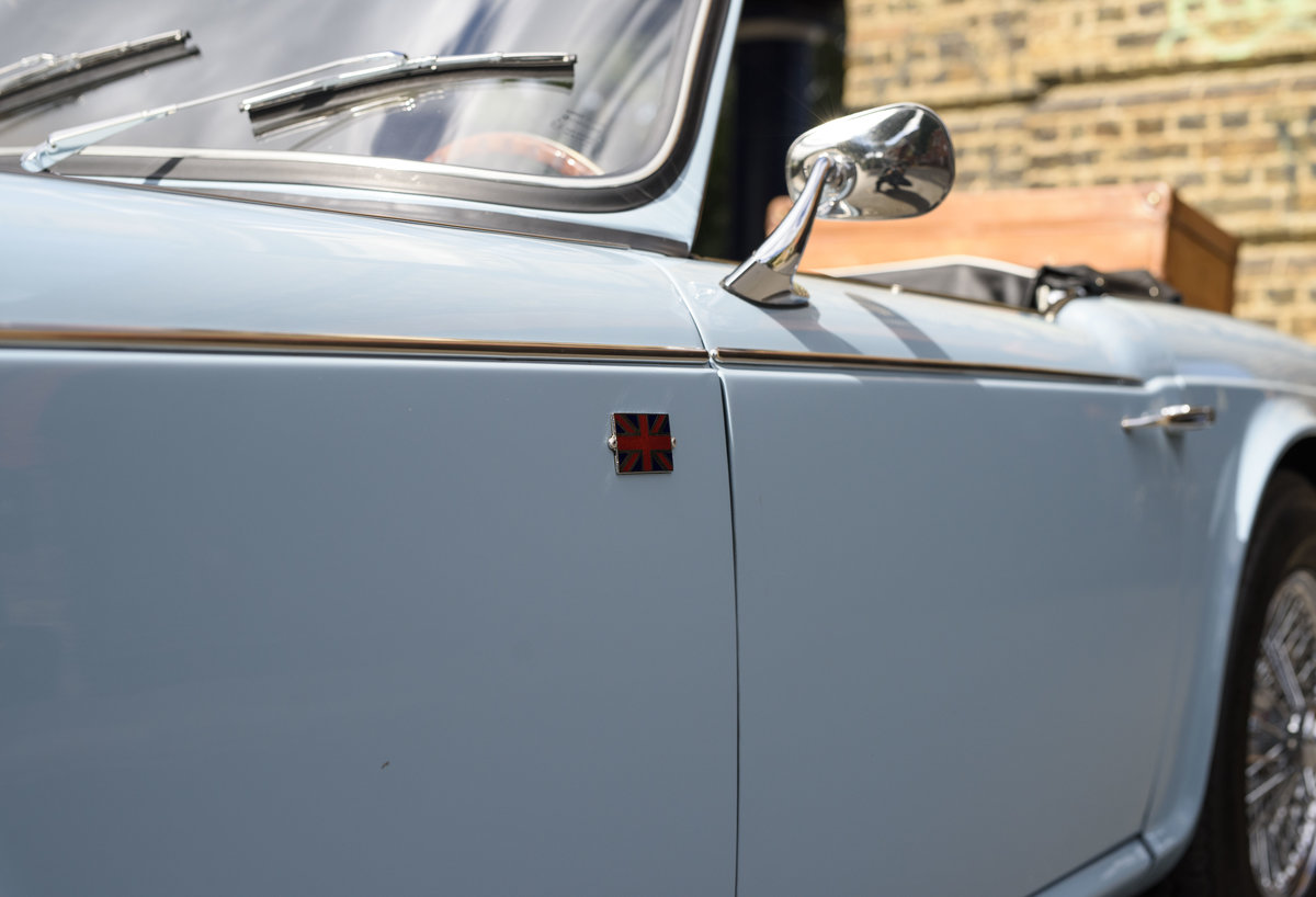 1966 Triumph TR4 Roadster For Sale In London (LHD) For Sale (picture 11 of 24)