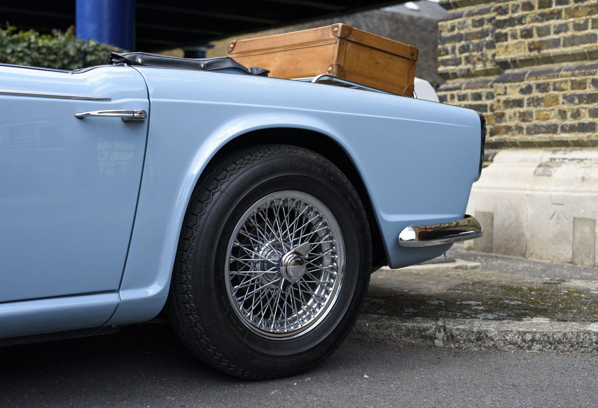 1966 Triumph TR4 Roadster For Sale In London (LHD) For Sale (picture 12 of 24)