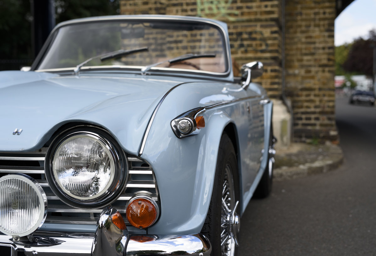 1966 Triumph TR4 Roadster For Sale In London (LHD) For Sale (picture 13 of 24)