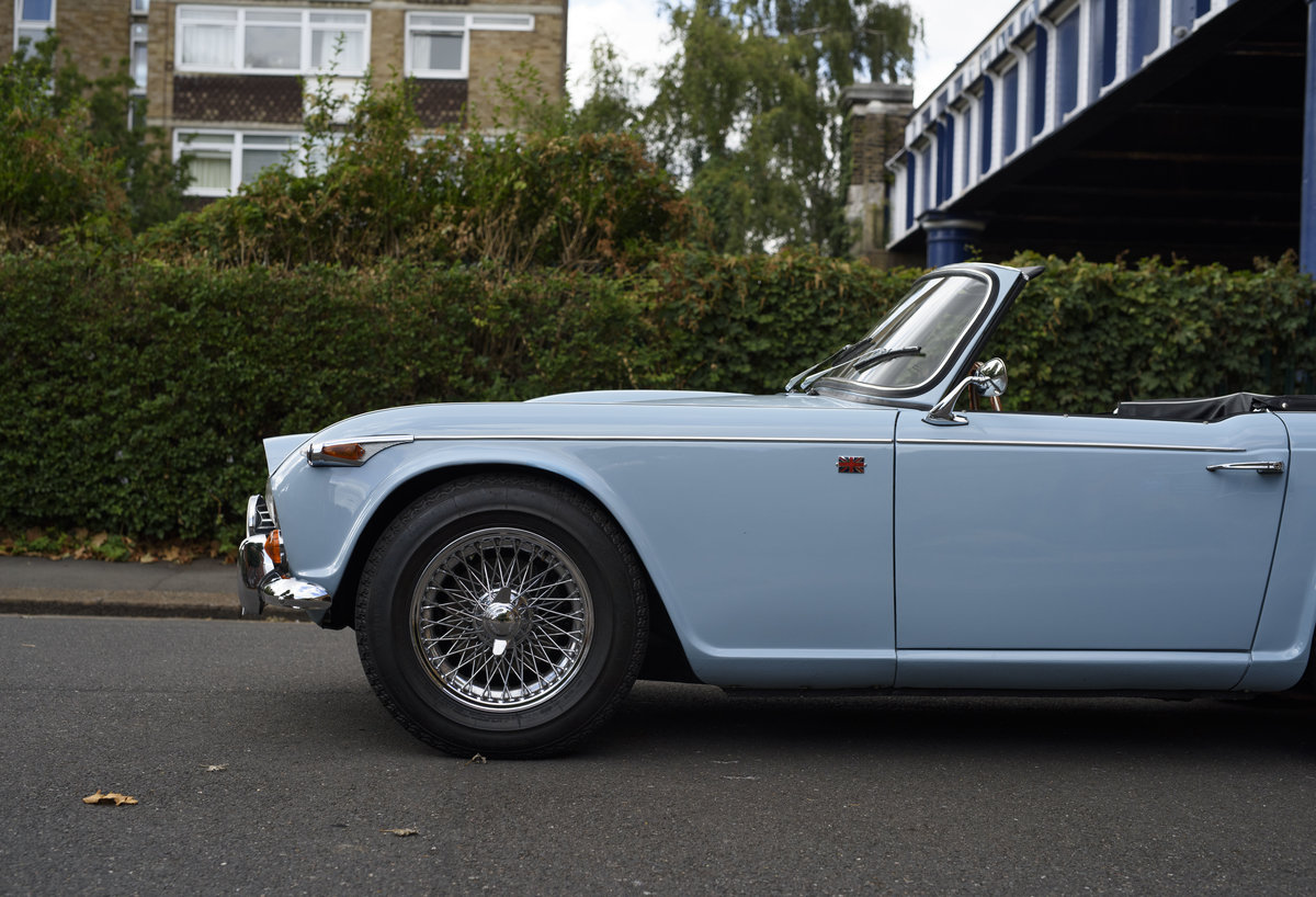 1966 Triumph TR4 Roadster For Sale In London (LHD) For Sale (picture 14 of 24)