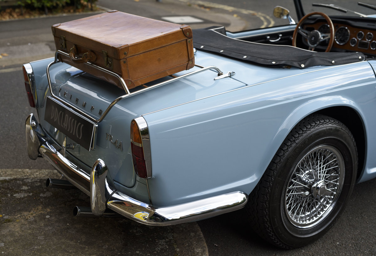 1966 Triumph TR4 Roadster For Sale In London (LHD) For Sale (picture 16 of 24)