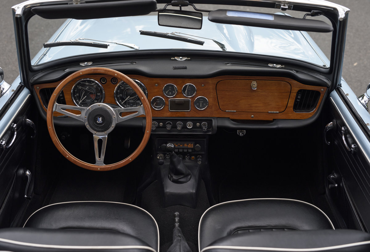 1966 Triumph TR4 Roadster For Sale In London (LHD) For Sale (picture 17 of 24)