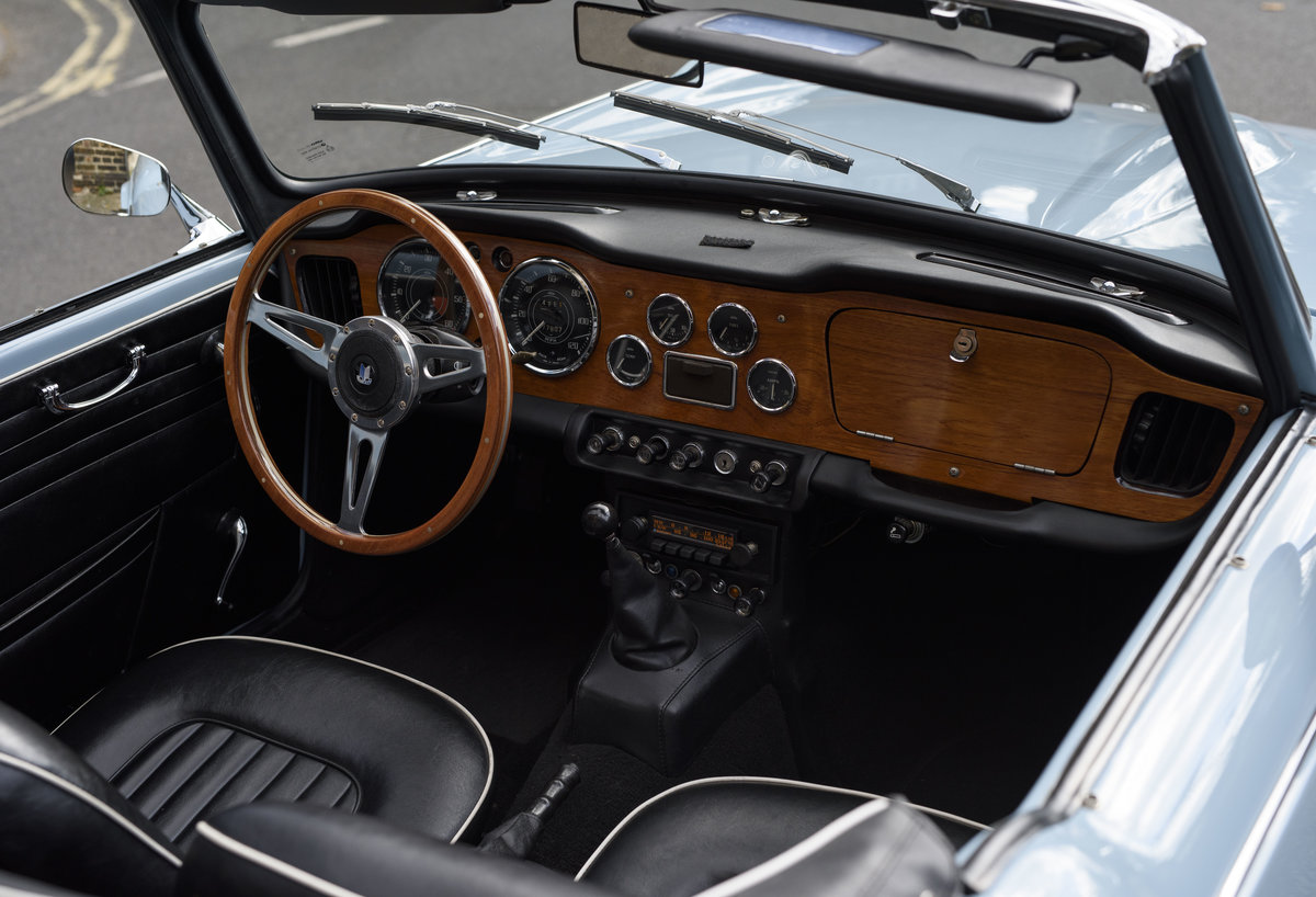 1966 Triumph TR4 Roadster For Sale In London (LHD) For Sale (picture 18 of 24)