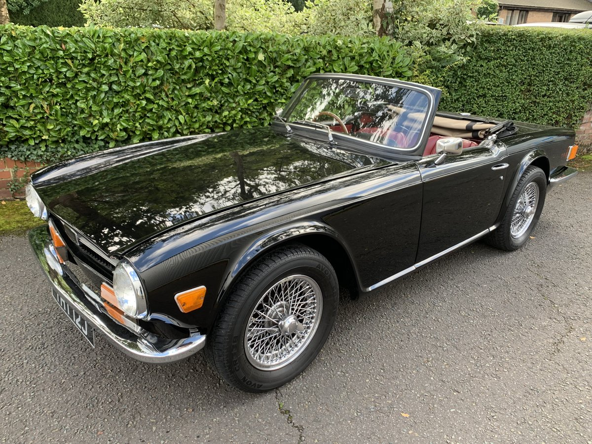 1970 TRIUMPH TR6 PI  SOLD (picture 1 of 6)