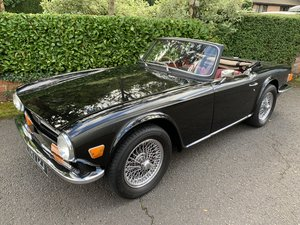 1970 TRIUMPH TR6 PI  For Sale